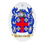 Spinello Oval Ornament