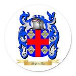 Spinella Round Car Magnet