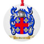 Spina Round Ornament