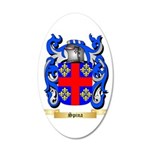 Spina 20x12 Oval Wall Decal
