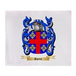 Spina Throw Blanket