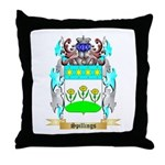 Spillings Throw Pillow