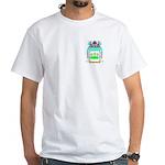 Spilling White T-Shirt