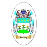 Spilling Sticker (Oval)