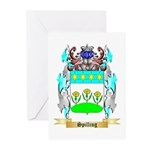 Spilling Greeting Cards (Pk of 10)