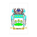 Spillin Sticker (Rectangle 50 pk)