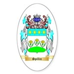 Spillin Sticker (Oval 10 pk)