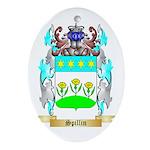 Spillin Oval Ornament