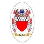 Spillane Sticker (Oval 10 pk)