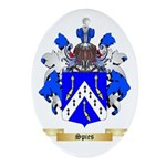Spies Oval Ornament