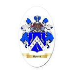 Spiers Oval Car Magnet