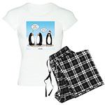 Penguin Christmas Women's Light Pajamas