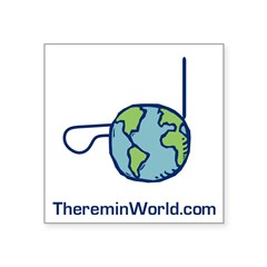 Thereminworld Square Sticker