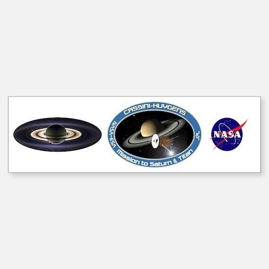 Earth From Saturn Sticker (Bumper)