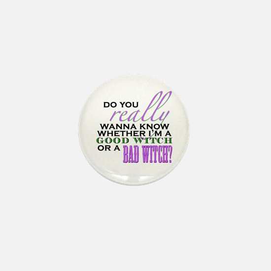 Do You Really Wanna Know? Mini Button