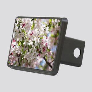 Spring Apple Tree Blossoms Hitch Cover