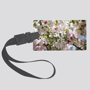 Spring Apple Tree Blossoms Luggage Tag