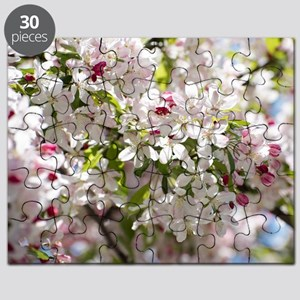 Spring Apple Tree Blossoms Puzzle