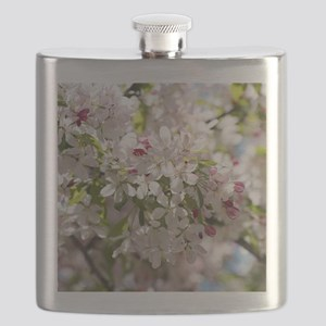 Spring Apple Tree Blossoms Flask