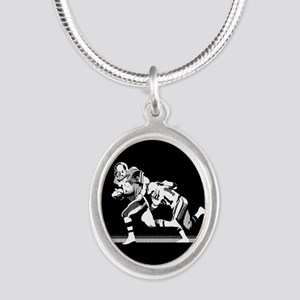 Football Players Tackle Necklaces