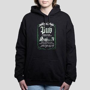 PADDY WHACKED PUB Women's Hooded Sweatshirt