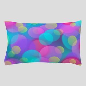 Colorful Bokeh Pattern Pillow Case