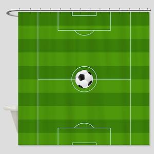 Football Field Shower Curtain