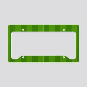 Football Field License Plate Holder