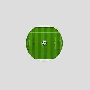 Football Field Mini Button
