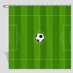 Football Field Shower Curtain