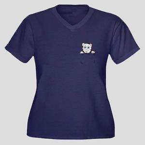 Pocket Kitty Plus Size T-Shirt