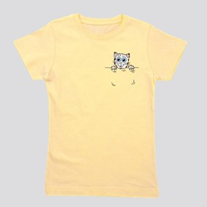 Pocket Kitty Girl's Tee