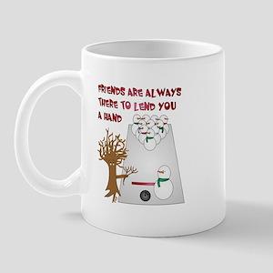 Snowman Bowl Mug