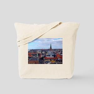 Copenhagen Skyline Tote Bag