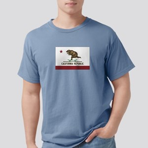 California Skateboarding Bear Flag T-Shirt