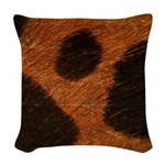 Wild Woven Throw Pillow
