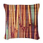 Reeds Woven Throw Pillow