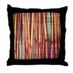Reeds Throw Pillow