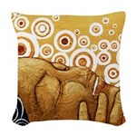 joy Woven Throw Pillow