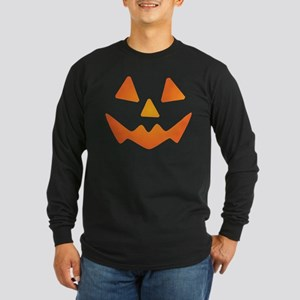 Jack-o-lantern #3 Long Sleeve Dark T-Shirt