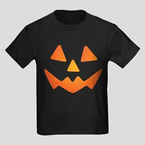 Jack-o-lantern #3 Kids Dark T-Shirt