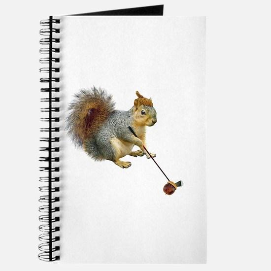 Squirrel Acorn Golf Journal