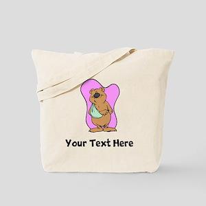Bear With Broken Arm (Custom) Tote Bag