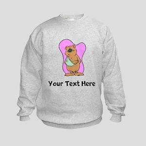 Bear With Broken Arm (Custom) Sweatshirt