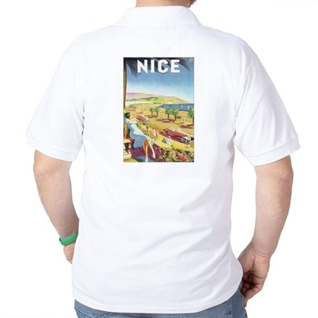 Mediterranean Postcard Golf Shirt