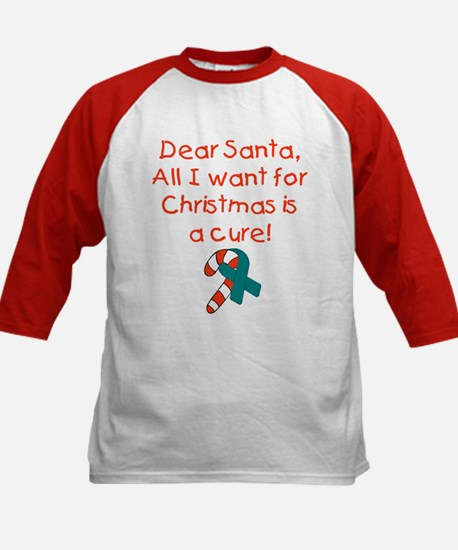 Christmas Kids Baseball Jersey
