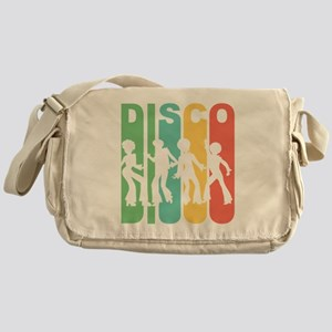 Retro Disco Messenger Bag