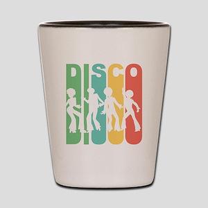Retro Disco Shot Glass