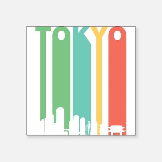 Vintage Tokyo Cityscape Sticker