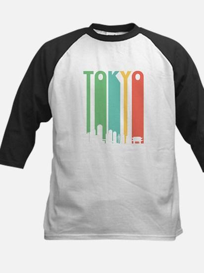 Vintage Tokyo Cityscape Baseball Jersey